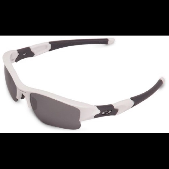 bf4dd93235b9 Oakley Men's Flak Jacket XLJ White and Grey. M_5a8b8e6a6bf5a619f9fbe030